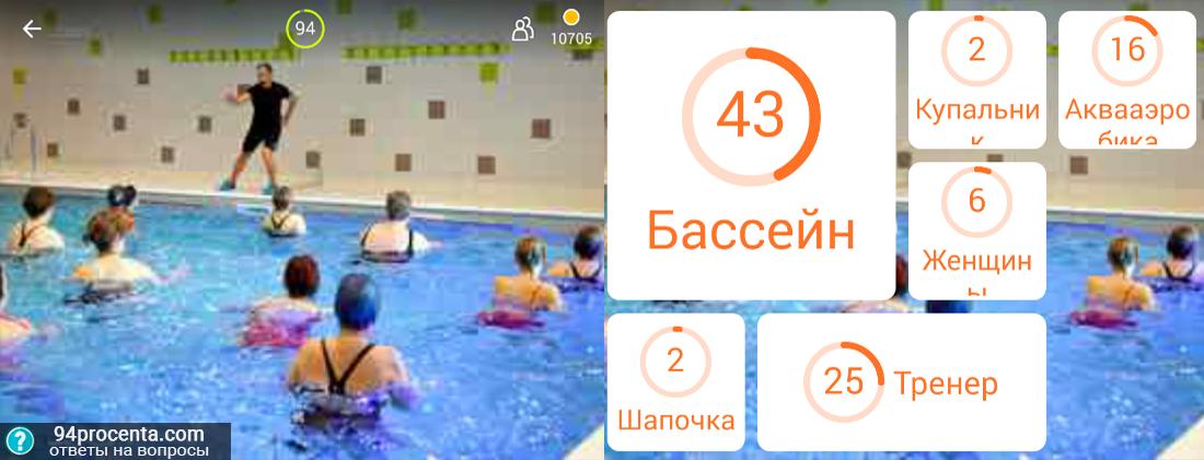 Днем рождения, картинка с бассейном 94 процента